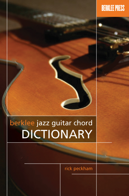 Berklee Jazz Guitar Chord Dictionary Amazoncouk Rick