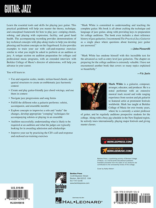The Practical Jazz Guitarist - Berklee Press