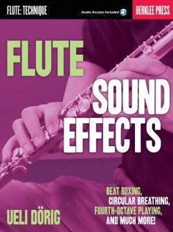 Flute Sound Effects (Front Cover)